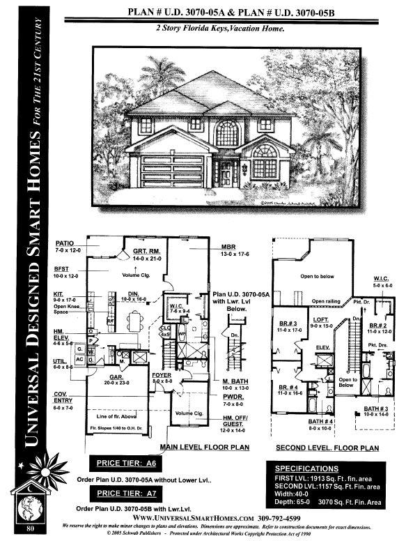 No step house plans house plans Universal house plans